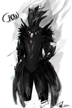 Warframe Design: CROW by PanzerTheTank