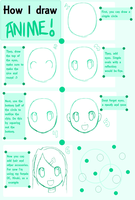 How to draw anime tutorial by alexiakhodanian