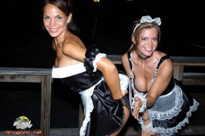 French Maids Spanking by KingGusJr
