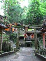 Shrines on the Path by Dandric101