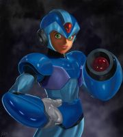 Mega Man X by Cyruscloud