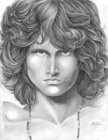 Jim Morrison by Cruuzetta