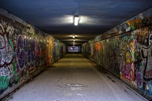 Graffiti Tunnel Revisited by ayukat