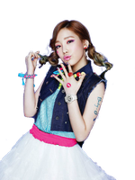 SNSD Taeyeon Kiss Me Baby-G Casio ~PNG~ by JaslynKpopPngs
