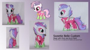Sweetie Belle Show Stoppers Custom by Funkentanz
