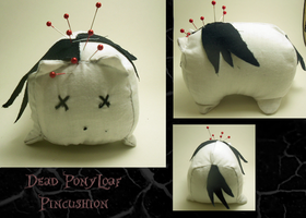 Ponyloaf pincushion by xxSnarky