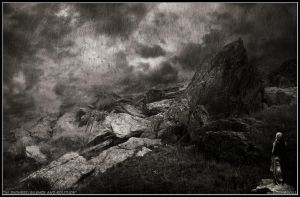 In Sadness Silence an Solitude by MoodyBlue