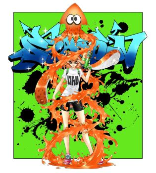 Splatoon! by CHA-SOBA