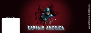 For Your Upgrade Facebook -Captain America Cover by viork