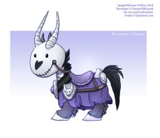 Warcraft: Chibi Deathcharger by frisket17
