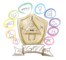 Gravity Falls - Coat of Arms by ChibiGuardianAngel