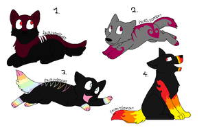 MOAR adopts by TheViciousViper