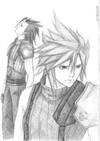 Cloud and Zack by Olifaciy