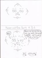 Kaven and Rose Shorts - 3 by DazzyDrawingN2