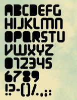 One font by Jensia
