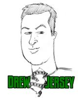 Drew Jersey t-shirt art by mikeydoy