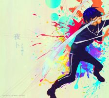 Noragami - Yato by Colorful-27