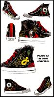 Panic At The Disco Converse by frikibunny8