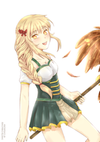Arcadia and her owl #Gift ::abuelovader:: by hyuugalanna