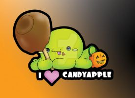 Candyapple Cephalopod by ObscureGraphics