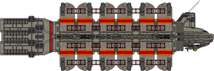 Colonial Military Tylium Tanker by Kelso323
