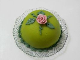 Mini swedish princess cake by Diotima96