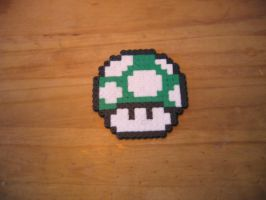1-up Mushroom by Pirate-Ken