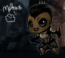 Muffins of Skyrim by chocolate-rebel