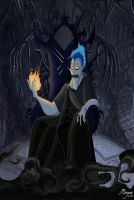 Hades, God of the Underworld by PinkBassist3