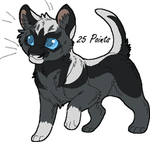 Kitten Point Adopt 1 GONE by Kasara-Designs