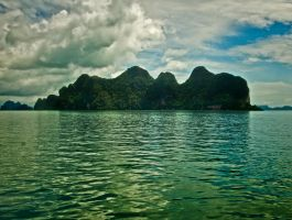 Islands in the Andaman Sea 3 by JBord