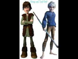 Hiccup and Jack Frost by SinbadHiccup