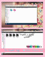 wherever pink for windows vista theme by alenet21tutos