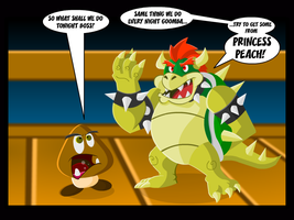 Bowser:  Woman Domination by GregEales