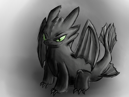 Toothless by BlumanX