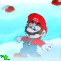 Super Mario Bros. 3 World 5 B by LeTourbillonEnchanT