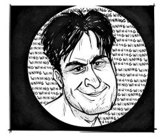 Charlie Sheen by riddsorensen