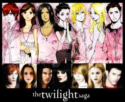 The Twilight Saga by tabeck