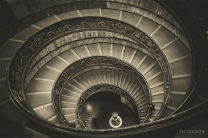 Spiral staircase by olideb08