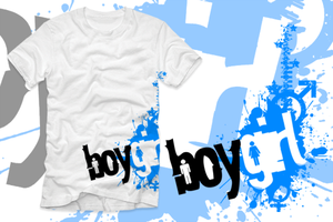 BoyGirl Clothing Tee Design by andrewackroyd