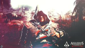 Assassin's Creed 4 Black Flag - Wallpaper Design by OptimusProduction