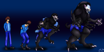King of Spiders Sequence transformation PC by CandySugarSkullGirl9