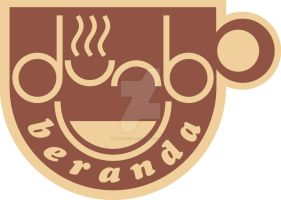 beranda cafe logo dark by waloehcomic