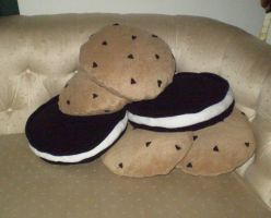 Cookie Pillows by CraftyPA