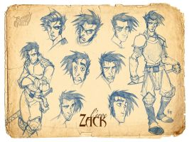 The Hero: Zack by Kendal14