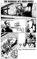 The Marriage Act: inked panels by Robus2