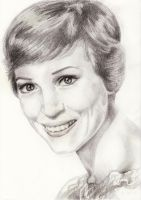 Julie Andrews by Ginofullstoryandpics