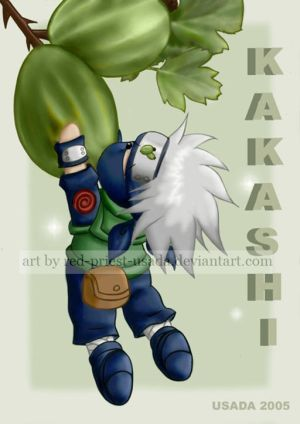 Kakashi Chibi on Chibi Fruit Ninja Kakashi By Red Priest Usada Jpg