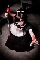 Here's the angel! - Little Sister: Bioshock by Thecrystalshoe