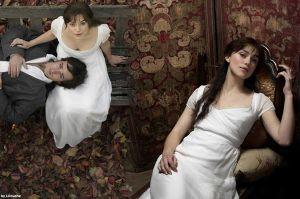 Mr. darcy and lizzie bennet by lilouche